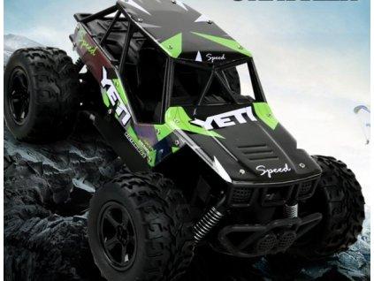 RC auto YETI 2WD - 21cm - 20km/h - zelené
