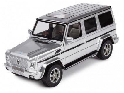 RC licencovaný rc model auta Mercedes-Benz G55 1:14 RTR – strieborný