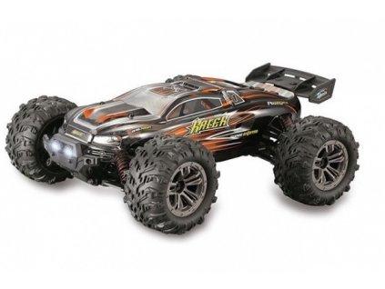 Auto na diaľkové ovládanie Truggy Racer 4WD 1:16 2.4GHz RTR - oranžový
