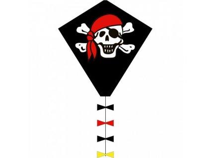Šarkan Veselý pirát Eddy Roger 58x70 cm