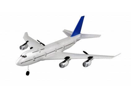 Boeing 747 RC lietadlo so stabilizáciou, 3ch - motory a výškovka, 495mm, RTF 2,4GHz, EPP