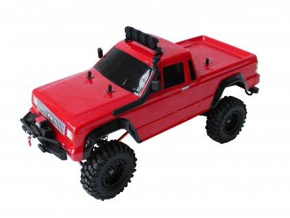 Rc auto DF-4S Crawler XL 313mm Edition, LED, naviják, 2 rýchlosti, červený