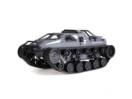 RC Vojenká POLICIA pásové vozidlo 1:12, 2,4 GHz, RTR, šedá