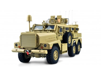 RC vojenské vozidlo COUGAR MRAP US Explosion-Proof Car 6x6 1:12, PROFIMODEL, RTR