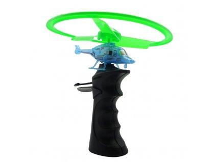 Flying TOP vystreľovací vrtuľník s LED osvetlením a odpalovačom