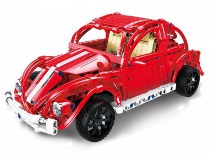 RC stavebnica Červený chrobák Volkswagen - 472 dielikov