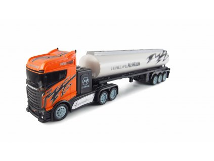 RC Kamión s cisternou 2WD, 1:16, bohaté príslušenstvo, semafór, radar, RTR