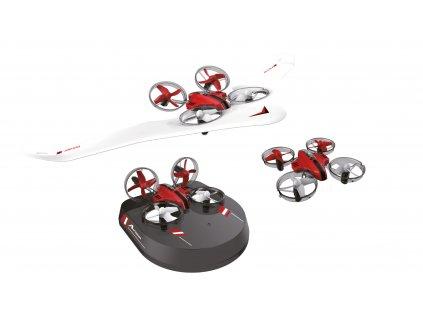 Air Genius All-in-one, dron, klzák a vznášadlo v jednom, gyro, headless, RTF