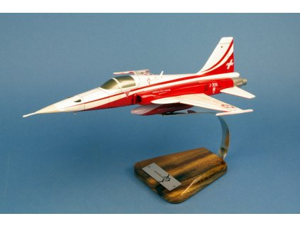 Maketový model lietadla F-5E TIGER