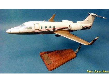 Maketový model lietadla Learjet 55 Longhorn 1:38