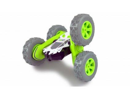 Oboustranné RC auto Big SpinStar,  4WD, otočné nápravy, 2,4 GHz, 100% RTR, zelený