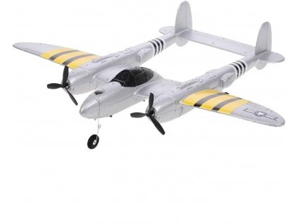 Rc lietadlo LOCKHEED P-38 LIGHTNING, RTF, 2,4 Ghz, EPP