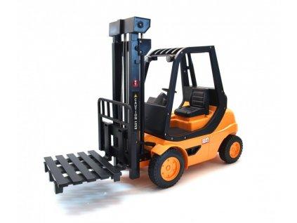 RC Vysokozdvižný vozík 1:8, 2,4 GHz, LED, funkčné vidlice, RTR