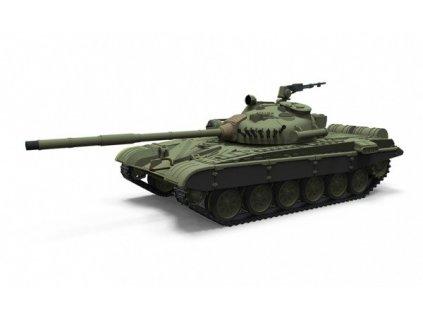 Súbojový rc tank  M-84 1: 72 v excelentnej ručne maľovanej kamufláži