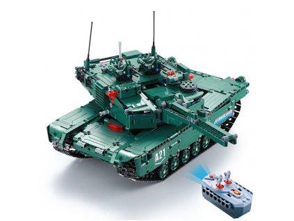 RC stavebnica CaDA DETECH tank M1A2 Abrams 2v1