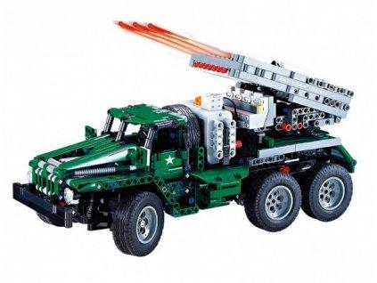 RC stavebnica combat vehicle BM-21 - (1369 dielikov)
