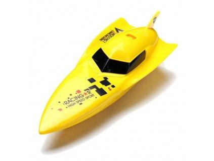 Bazénová mini rc lodička Gallop BOAT- žltá