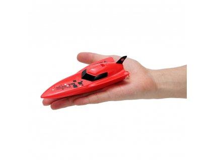 Bazénová mini rc lodička Gallop BOAT- červená