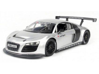 Rc auto Audi R8 licencované Rastar - strieborné
