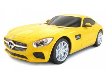 Rc auto Mercedes-AMG GT 1:24 RTR (AA powered) – žltý