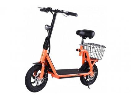 Elektrokolobežka X-scooters XS01 36V Li - 500W - Oranžová