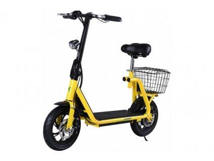 Elektrokolobežka X-scooters XS01 36V Li - 500W - Žltá