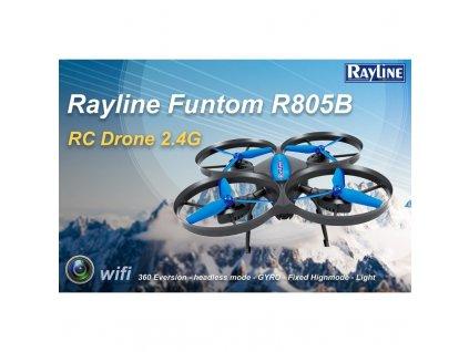Dron Rayline FUNTOM R805B Wifi kamera, barometer