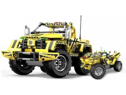 Stavebnica Pick-Up King 2v1 -auto na diaľkové ovládanie