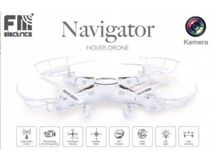 NAVIGATOR FM182 s HD kamerou, barometrem, kompasem a silnou AKU 600 mAh