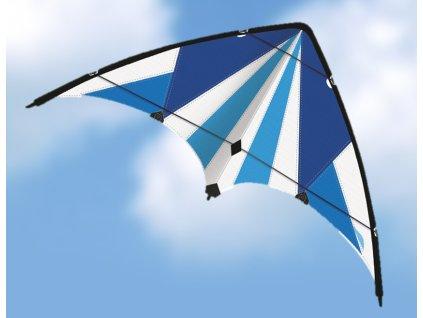 BLUE LOOP riaditeľný šarkan, 130x69 cm