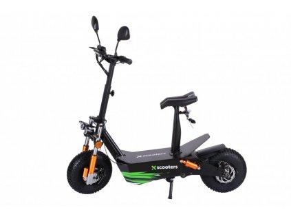 Elektrokolobežka X-scooters XR04 EEC 48V Čierna