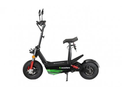 Elektrokolobežka X-scooters XR04 EEC 60V Li Čierna