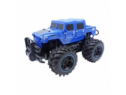 RC auto POLICE S.W.A.T. Rock Crawler Jeep 2 WD, 1:16, modrý