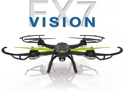 Rc dron FLEXCOPTERS FX7 VISION, Wifi FPV, kamera, vypínateľný barometer a kompas
