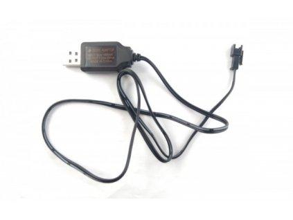 Nabíjačka USB NiCd / NiMh 7.2V 250mA SM