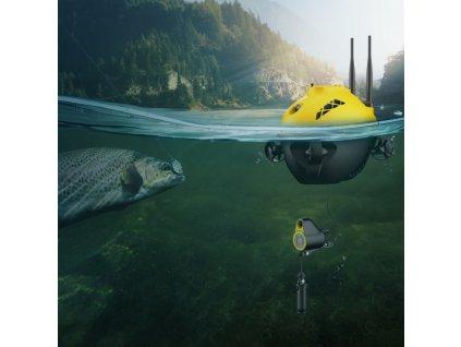 Podvodný dron pre sledovánie rýb Chasing F1
