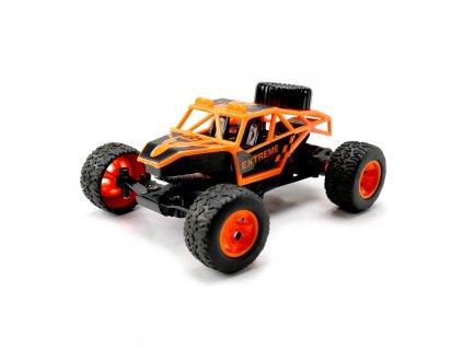 RC auto Fast Terminator O2, Mini TRUGGY, 2,4 GHz, 1:40, RTR, oranžový