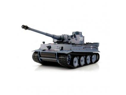 Rc tank GERMAN TIGER I BB+IR 1:16, proporcionálny, LED, zvuk, generátor dymu, RTR