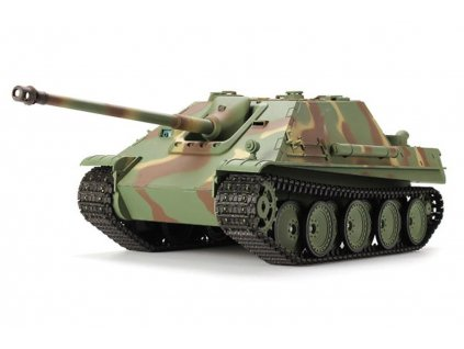 RC tank GERMAN JAGDPANTER camo BB+IR 1:16, proporcionálny, LED, zvuk, generátor dymu, RTR