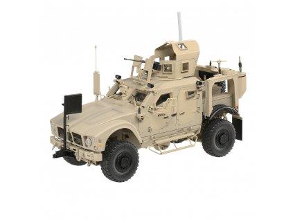 RC vojenský obrnený transportér Oshkosh US M-ATV 2WD MRAP 1:16 v maketovom prevedení