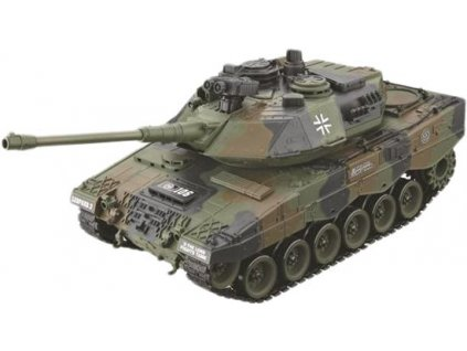 RC tank GERMAN LEOPARD 2 BB 1:16, LED, zvukový modul, 100% RTR
