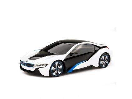 Rc auto BMW i8 1:24 s licenciou, metalický lak, odpružená predné kolesá