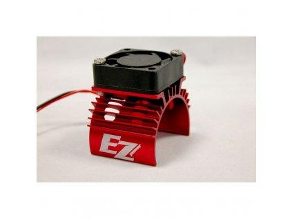 Chladič motoru s ventilátorom