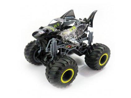 Rc auto Big Wheel Cars 1:16 Big Shark, 2,4 Ghz, 2WD, RTR, čierna