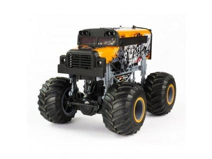 Rc auto Big Wheel Cars 1:16 King, 2,4 Ghz, 2WD, RTR, oranžová