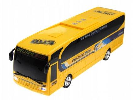 Rc diaľkový autobus De Luxe BUS s LED osvetlením, 36 cm