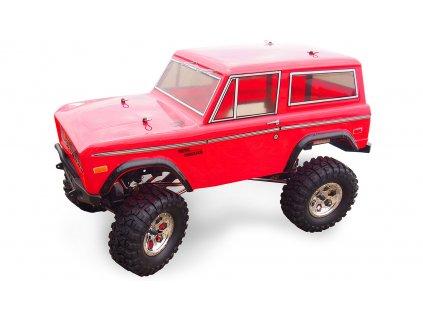 Rc auto BRONCO AMX Rock CRUISER Crawler 4WD 1:10, LED osvetlenie, RTR