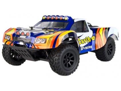 Rc auto Caribe HSP racing 4WD, 1:18, proporcionálne ovládanie, RTR, modrá