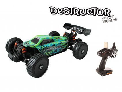 Rc auto Destructor BBL - 1:8 Buggy brushles waterproof
