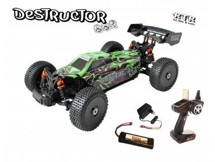 RC auto Destructor BBR - 1:8 Buggy brushed RTR